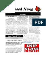 speed news 2-6-2007
