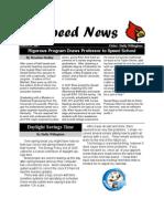 speed news 3-19-2007
