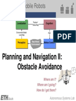 6 - Planning and Navigation II - Obstacle Avoidance Printable