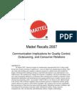 Mattel CaseStudy