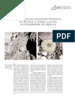 BATIS, A. y M. ROJAS. El Peyote y Otros Cactos Alucinógenos de México. 2002 (1)