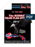 The Truth About 2011 Norway Terrorist Attack