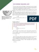 Inverse Square law for sound
