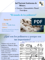 Polimeros - Quimica IV