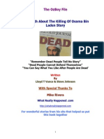 The Truth About Killing Osama Bin Laden Story