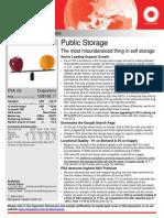 Macquarie Public Storage Note