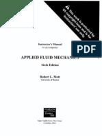 Mecanica de Fluidos Aplicada de Mott 6 Ed