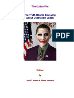 The Truth Obama Bin Lying About Osama Bin Laden