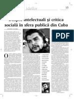 Desiderio Navarro, In Medias Res Publicas (en rumano)