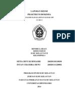 laporan praktikum  analisis Kadar abu dan kadar air