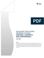 Evaluating Open Source Operating Systems: