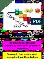 Communication Skills Lecture