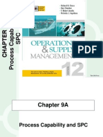 Process Capability and SPC :