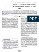 Molecular Detection of Toxigenic New Record Cyanobacterium Westiellopsis Prolifica in Tigris River
