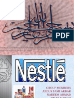 business strategy of nestle