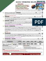 7) 7D5N Shenzen Macau Hongkong Deluxe Extra(XMAS NEW YEAR 2010)