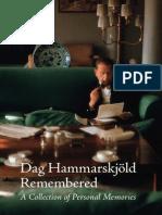 Mary-Lynn Henley and Henning Melber----  Dag Hammarskjold