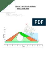 Estabilidad de Taludes Por Slop Del Geoestudio 2007