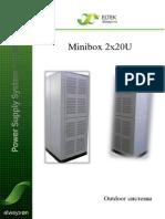 ELTEK Minibox 2x20U (Вымпелком 2013)
