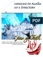 Archdiocese of Agana 2013 Directory