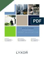 White Paper 6 Strategic Asset Allocation