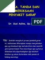 12 - Gejala, Tanda & Pemeriksaan Penyakit Neurologi
