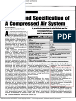 !!Design and Specification of a Compressed Air System