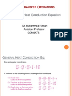 General Heat Conduction for Rectangle, Cylinders