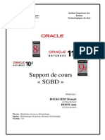 Cours Sgbd