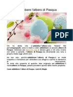 Come Addobbare l'Albero Di Pasqua