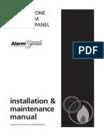 New CFP ALARMSENSE Installation Manual DFU7002020 Rev1 15-04-11
