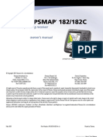 421 m Gpsmap 182 z 182c Manual Owner s Manual book
