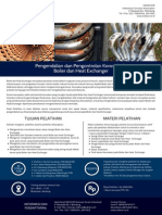Corrosion Control - Boiler and HE
