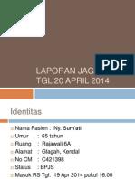 Laporan Jaga ASCITES 20414
