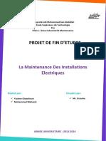 Maintenance Des Installations Electriques