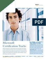 Microsoft Certification Tracks