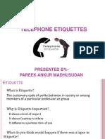 Seminar on Telephone Manners