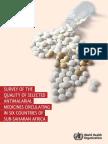 OMS Metode de Comabatere a Malariei