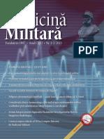 Revista de Medicina Militara Nr. 1 2 Din 2013