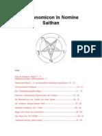 Necronomicon In Nomine Saithan