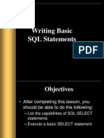 Chhapter 1 Basic SQL Statements