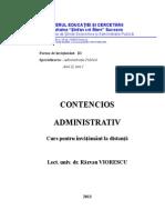 Contencios administrativ