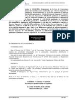 Ds009-93 Reglamento de La Ley de Concesiones Eléctricas