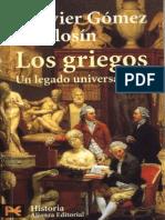 Libro - f Javier Gómez Espelosín - Los Griegos, Un Legado Universal
