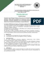 2da. Circular VI Congreso Linguistico 2