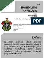 Meyke Liechandra - Spondilitis Ankilosis