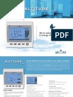 Altitude by Vemar Wall Control Brochure