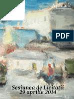 Catalog Licitatia de Sculptura Si Mobilier de Gradina 2014