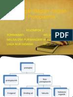 Bab 2 Sel Dengan Bagian-bagian Non Protoplasmik