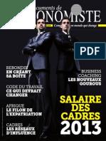 Le Salaire Des Cadres 2013